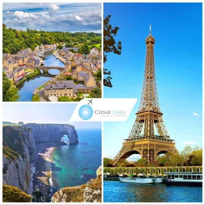 Paris -  Normandy -  Britany